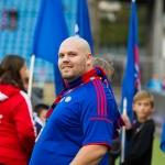 Oslo, Ullevaal - 20. september: Trond Erik Sandgren fra flaggborgen under Tippeligakampen mellom Vålerenga og Molde, 20. september 2014 på Ullevaal, Oslo (Foto: Anders Grydeland via www.grydis.no)