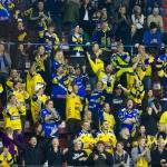 Oslo, Jordal Amfi - 15. oktober: GET-liga mellom Vålerenga og Storhamar endte 3-2 etter spillforlengelse, 15. oktober 2014 på Jordal, Oslo (Foto: Anders Grydeland via www.grydis.no)