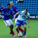 Oslo, Ullevaal - 20. september: Ghayas Zahid under Tippeligakampen mellom Vålerenga og Molde, 20. september 2014 på Ullevaal, Oslo (Foto: Anders Grydeland via www.grydis.no)