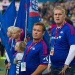 Oslo, Ullevaal - 20. september: Stian Thørner Holm Miland fra flaggborgen under Tippeligakampen mellom Vålerenga og Molde, 20. september 2014 på Ullevaal, Oslo (Foto: Anders Grydeland via www.grydis.no)